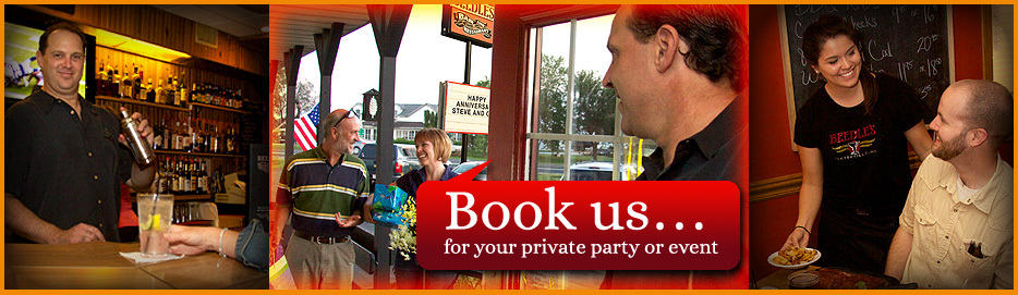 Book us for your next party or event!